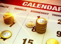 Scheduled market news events