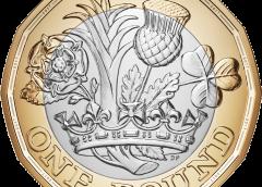One pound coin £1