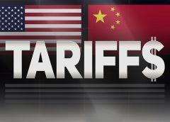 Trade tariffs U.S and China
