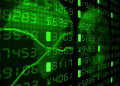 Stock markets up