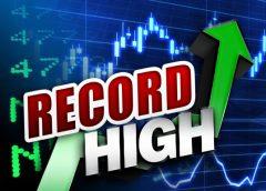 Stock market record high