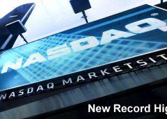 Nasdaq sets Record