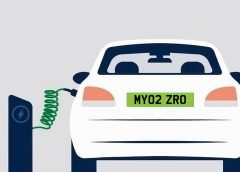Go green - electric car